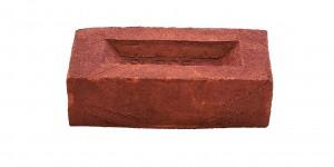 Hastings Dark Red Metric brick