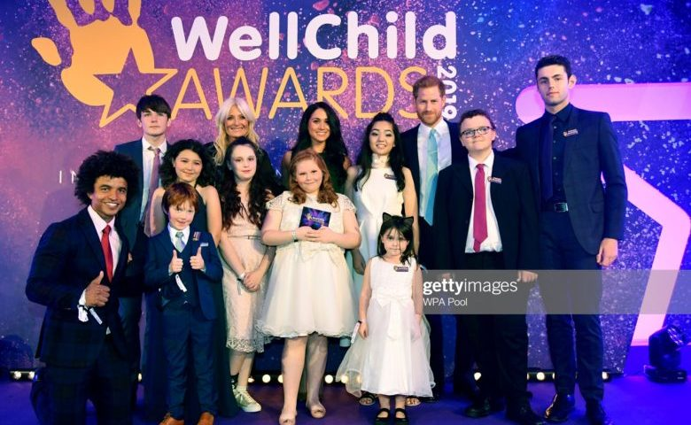 Duke of Sussex and Duchess of Sussex attend Well Child Awards