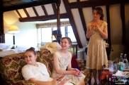Preparation at Amberley Castle Wedding Venue in Sussex