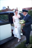 Houghton Church then on to Amberley for wedding breakfast