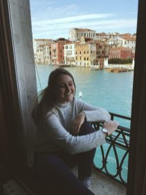 Haleigh called Venice home for a semester living at the Wake Forest Casa Artom House.