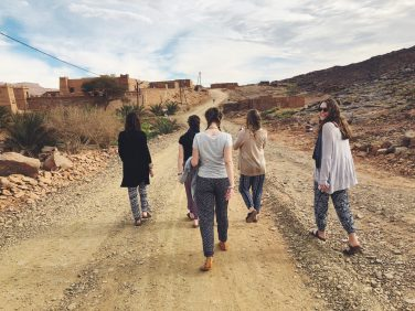 While in Morocco, Haleigh and her peers had the opportunity to teach in rural elementary schools.