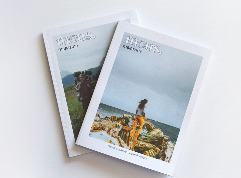 Sustainability Takes Centerstage With Mous Magazine