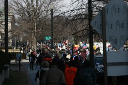 March Crowd