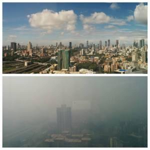 mumbai smog from dadar courtesy Vishal Jain