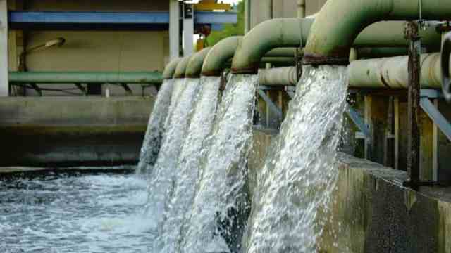 Image showing a dam in relation to borno state water tariff hike