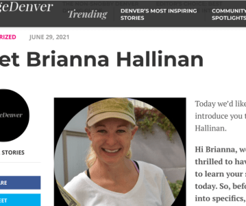 Sustainable Broomfield Founder Featured…..