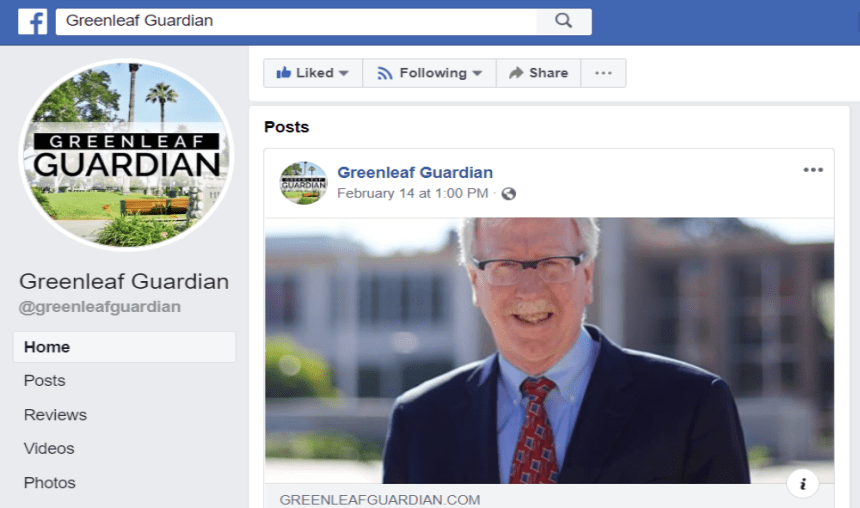 Greenleaf Guardian Has Ties to Mayor's Reelection
