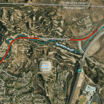 """Second 57 Freeway"" Could Impact Whittier Wildlife"