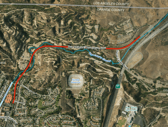 """""""Second 57 Freeway"""" Could Impact Whittier Wildlife"""