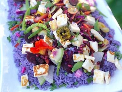 Unicorn Rice Salad