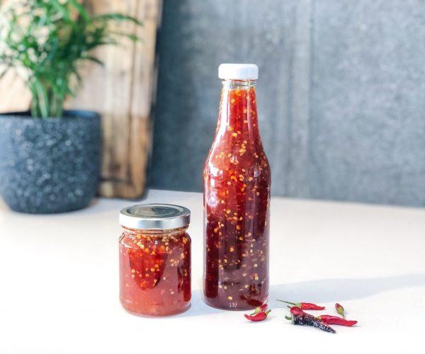 Easy Homemade Sweet Chilli Sauce