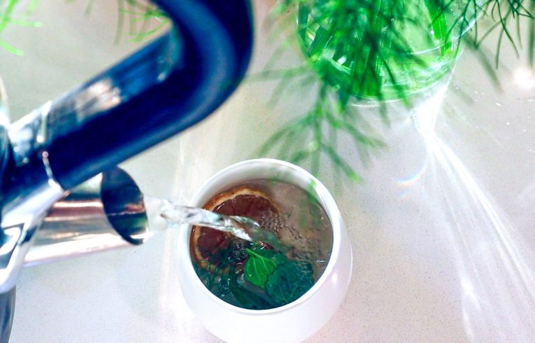 fennel frond tea