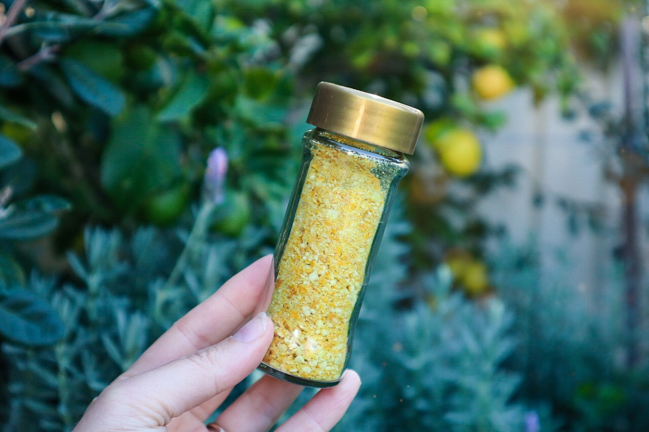 lemon zest sprinkles