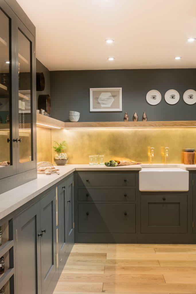 Double L Shaped Kitchen