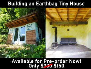 Earthbag tiny house
