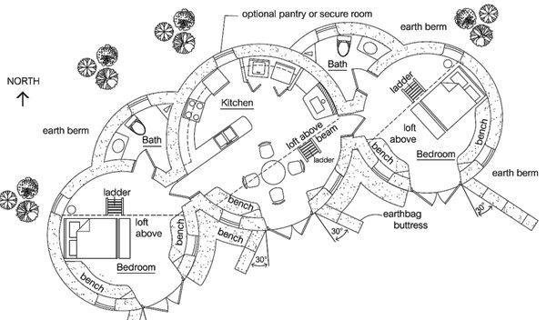 Enviro Dome 2 Floorplan