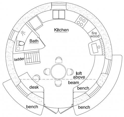 Peace Dome Floorplan