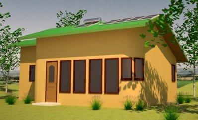 Solar Cabin Plan