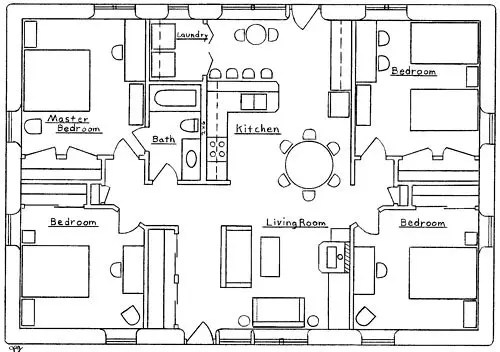 Summer Breeze House Floor Plan