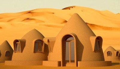 Tinyville Earthbag Domes