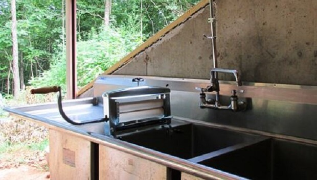 Doing laundry off-grid