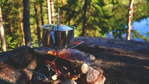 off-grid cooking methods