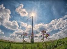 Alternative energy sources infographic