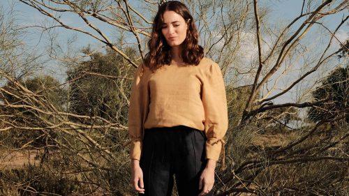 CLÉMENTINE_31chapellane_irish+linen+womenswear+clothing_irish+linen+blouse_irish+linen+shirt_irish+linen+top_mustard_1537