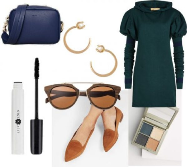 Celebrate St. Patrick's Day with a Green Sweater Dress