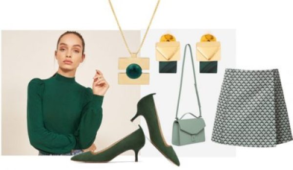 Celebrate St. Patrick's Day with a Totally Green Look