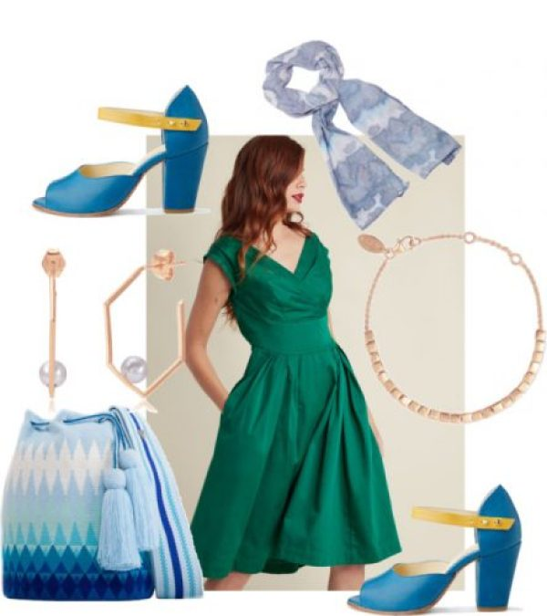Celebrate St. Patrick's Day with a Vintage Inspired Green Dress