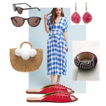 10 Sustainable Outfits Full of Trendy Gingham
