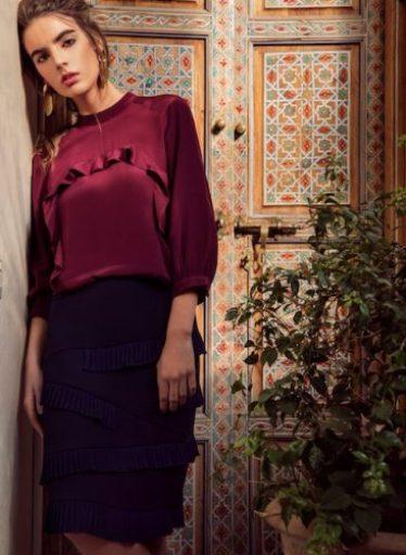bozena jankowsk zero waste brand Angelica-Blouse-and-Melissa-Skirt-Final