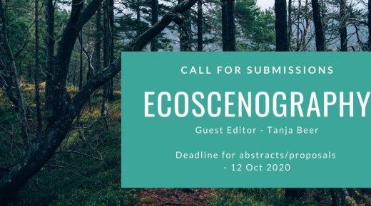 Call for papers: Theatre and Performance Design Special Issue on Ecoscenography (Autumn 2021)