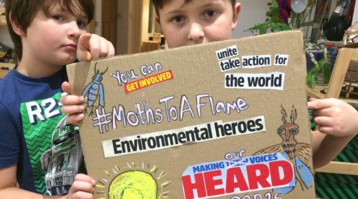 Opportunity: Moths to a Flame – An invitation to join in making artwork for COP26