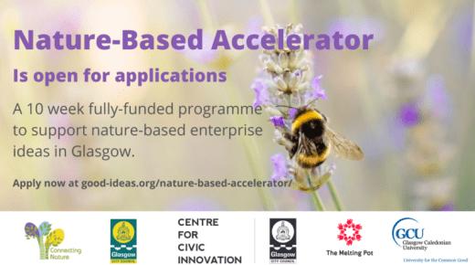 Opportunity: Nature-Based Enterprise Accelerator pilot