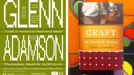 "Glenn Adamson: ""Craft in America: Real and Ideal"""