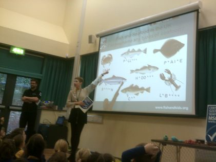 Sustainable Fishing at Alban City School