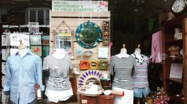 Offers on craft materials at Oxfam Harpenden