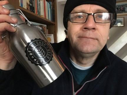 Beer Shop 10% discount on reusable beer flagons