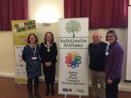 Harpenden Town Mayor attends Phil Williams talk