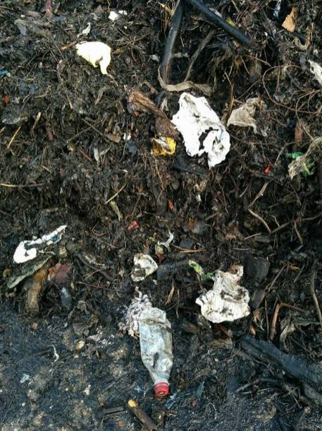 Plastic contamination now down to 3-5% of compost