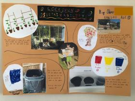 Lockdown competition - Oliver age 8 collage