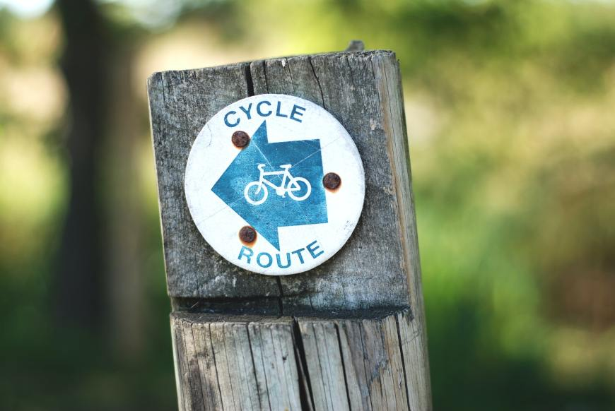 cycle route gemma-evans-LTEo69JUv7o-unsplash