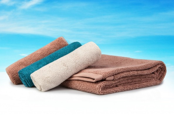 A norwex towel and body pack with silver - the Norwex Baclock system to inhibit bacteria