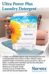 Ultra Power Plus is safe for all fabric types including hand washables, wool, nappies and Norwex microfibre.
