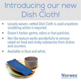 Introducing the new Norwex Dish Cloth | SustainableSuburbia.net