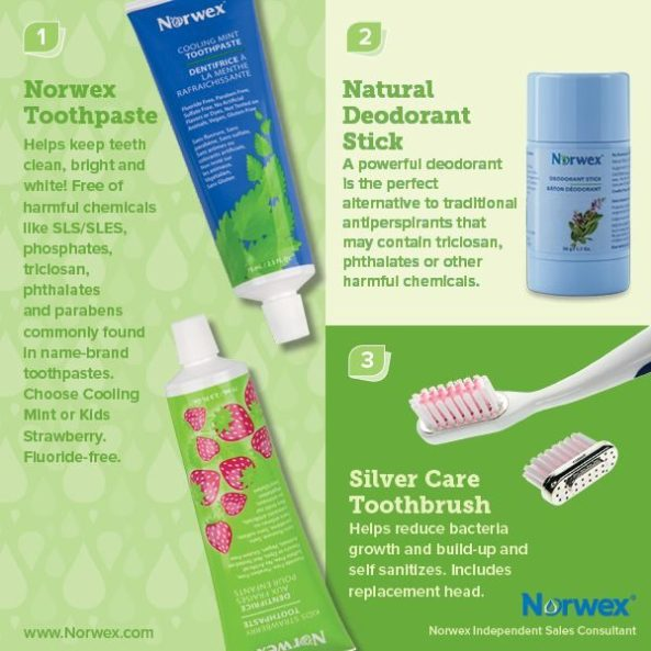 Norwex Natural deodorant stick, an alternative to traditional antiperspirants that may contain triclosan, pthalates, or other harmful chemicals | SustainableSuburbia.net