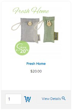 Norwex-Air-freshener bags on sale in Australia and New Zealand | SustainableSuburbia.net